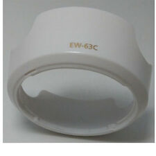 White  Lens Hood for Canon EF-S 18-55mm f/3.5-5.6 IS STM EW-63C 18-55 Shade