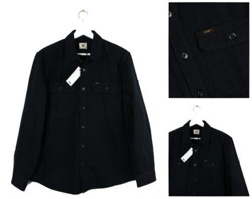 S Lavoro Lee m l giacca Nuovo Tessuto Nera Camicia Da xl Giacca Pesante Regular 4vxZqw