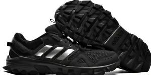 4fe176e7c8fd1 SPRING SALE!  Men s Adidas ROCKADIA TRAIL Black Running Shoes CG3982 ...