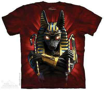 Anubis Jackal Headed Egyptian Soldier The Mountain Adult T-Shirt