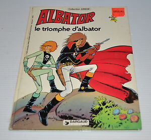 ALBATOR : le Triomphe d'Albator BD French Comic Book (Captain Harlock) 1980