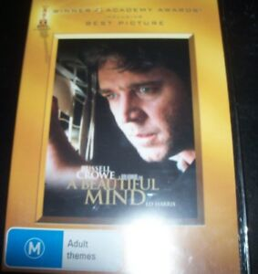 A-Beautiful-Mind-Russell-Crowe-Two-Disc-DVD-Australia-Region-4-DVD-New