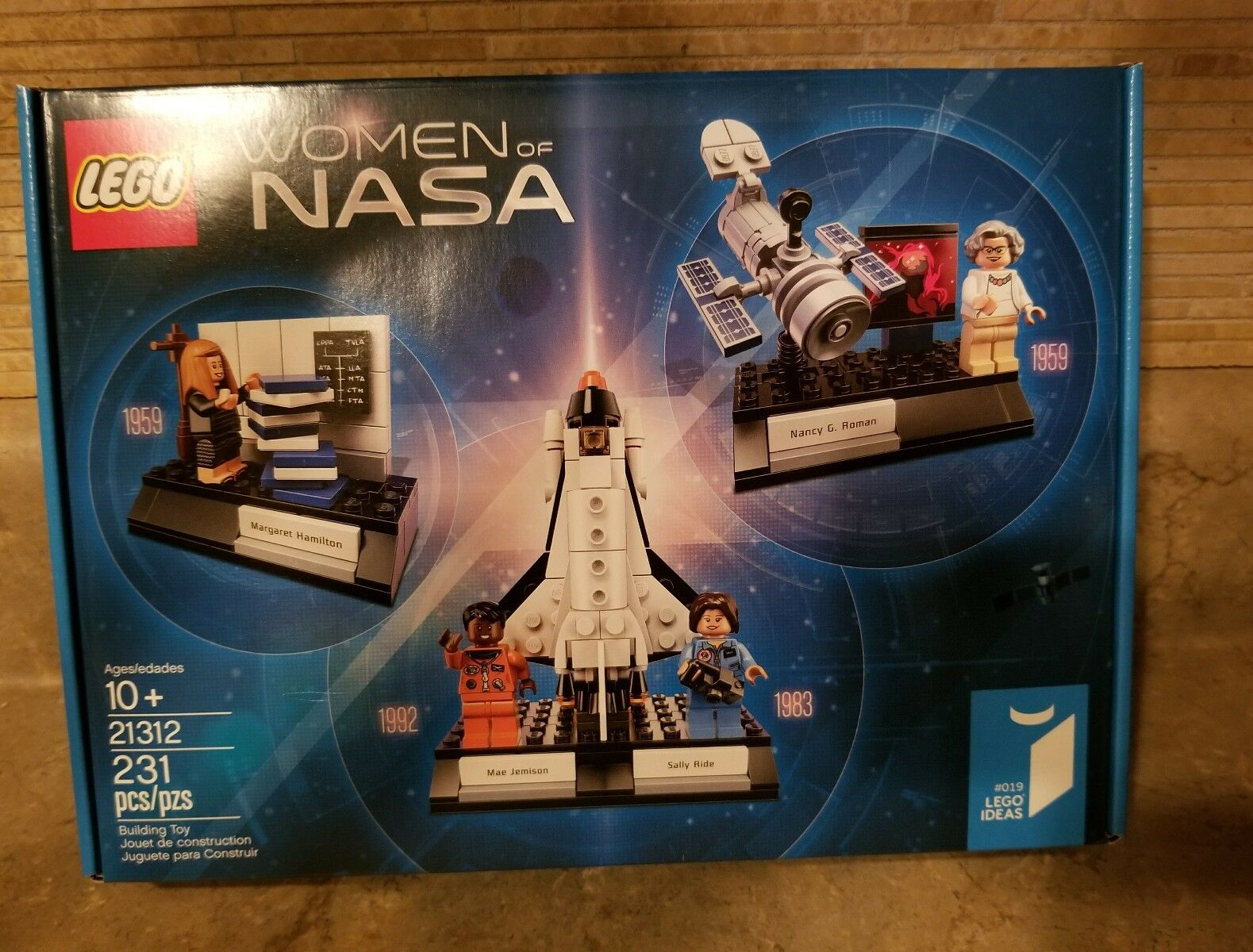 LEGO 21312 Ideas Damens of NASA 231pcs New In In In Hand Free Shipping 2f0814