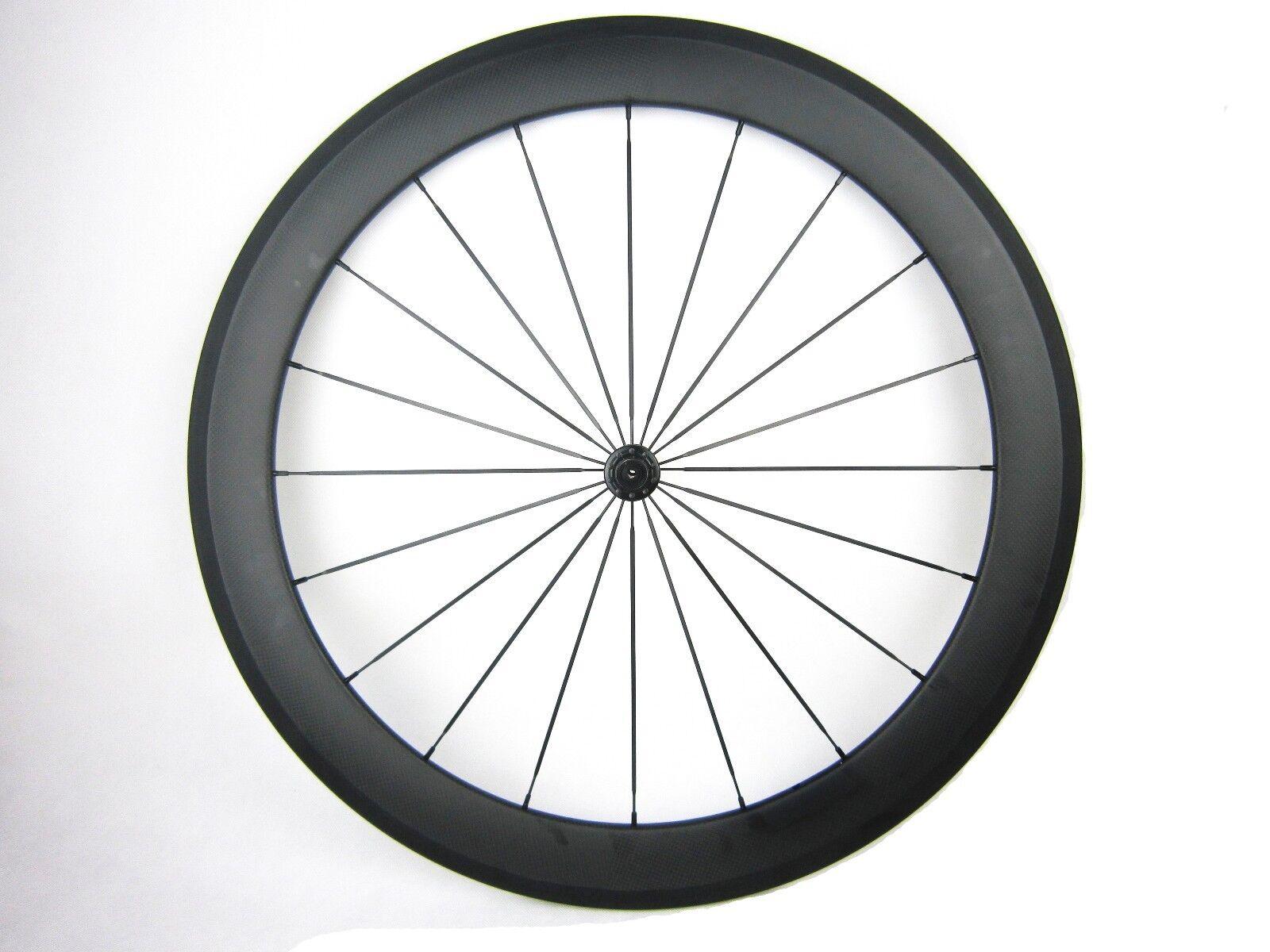 700C carbon bike wheel,front wheel,60mm clincher 20 hole,20.5mm width