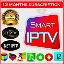 IP''TV 1-12 MONTHS  SUBSCRIPTION+ TRY BEFORE BUY
