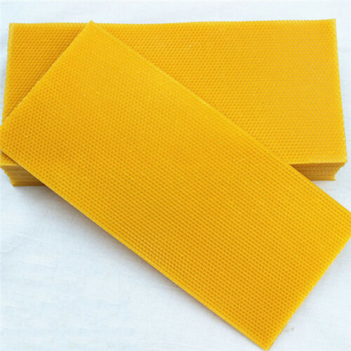 Australian wax foundation 8 sheets full depth heavy duty beeswax foundation