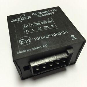 original jaeger cc remorque module check control module 12v 10 p le 52400007 ebay. Black Bedroom Furniture Sets. Home Design Ideas