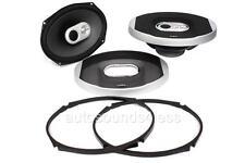 "Infinity PR9603is 360 Watts 6"" x 9"" 3-Way Coaxial Car Audio Speakers 6""x9"" New"