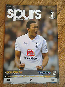 02-12-2007-Tottenham-Vs-Birmingham-City-Premier-League-Football-Match-Programme
