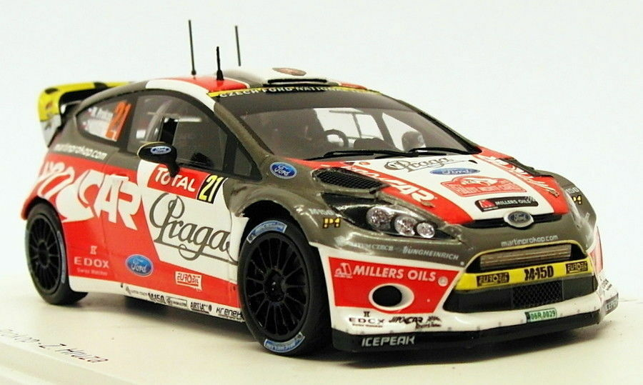 Spark 1 43 Scale S3346 - Ford Fiesta RS WRC  21 - 9th Monte Carlo 2012