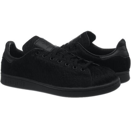 coleccionista Oc de piel Adidas piel zapatos Stan y para en de de negro genuina mujer caballo Smith Xdd8q