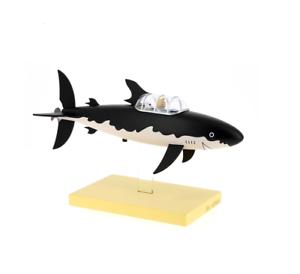 Die-unter-Seemann-Hai-Tim-und-Struppi-Moulinsart-Herge-Invention-Tournesol