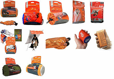AMK SOL Adventure Medical Kit Bivvy Bivy Blanket Survival Escape Utility Shelter