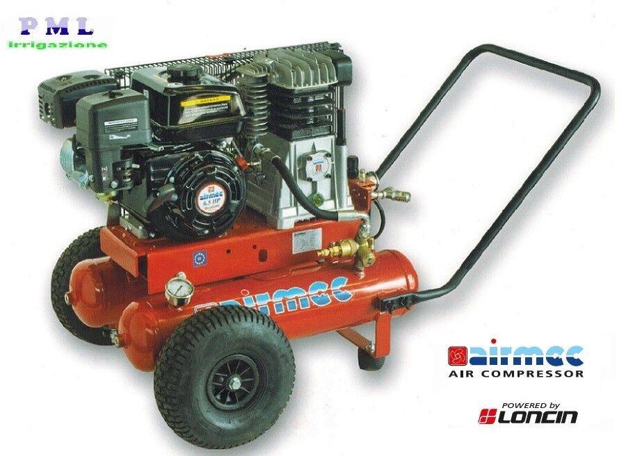 servizio onesto Motocompressore Airmec TEB 22-510 - - - LONCIN G200 F  benzina  tutti i beni sono speciali