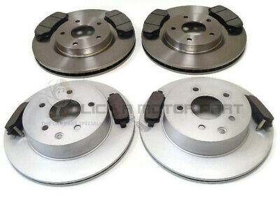 FOR NISSAN X-TRAIL XTRAIL MK2 2.0 2.0 DCi 2.5 FRONT 2 BRAKE DISCS AND PADS SET