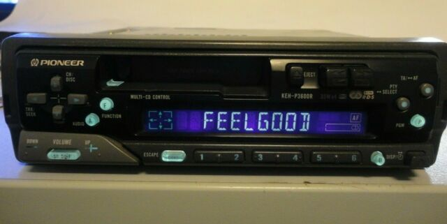 Pioneer Keh P3600 R Retro 90s Radio Cassette Car Stereo Headunit Cd Changer Contr by Ebay Seller