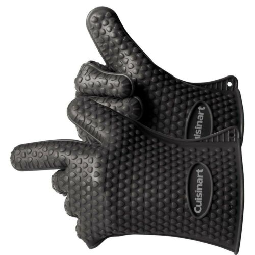 2-Pack Cuisinart Heat Resistant Silicone Grill Gloves
