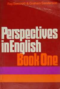 Perspectives-in-English-Book-One-Sanderson-Graham-Beecroft-Ray-Very-Good-Bo