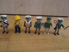 6 Playmobilfiguren