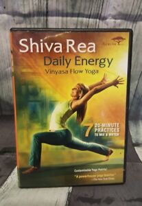 Shiva Rea: Daily Energy Vinyasa Flow Yoga DVD New Sealed