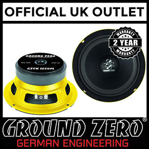 Ground-Zero-GZCK-165SPL-16-5cm-6-5-034-250-Watts-Kick-Midwoofer-Car-Van-Speaker