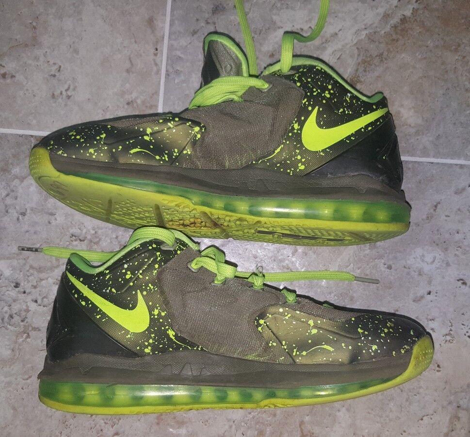 Nike lebron 11 xi basso basso xi dunkman air max, da verde, 642849-200 uomo us8 uk7 595386
