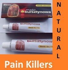 2 x Natural Amber Cream Pain Relief Painkiller Arthritis Muscle Joint Thyroid UK