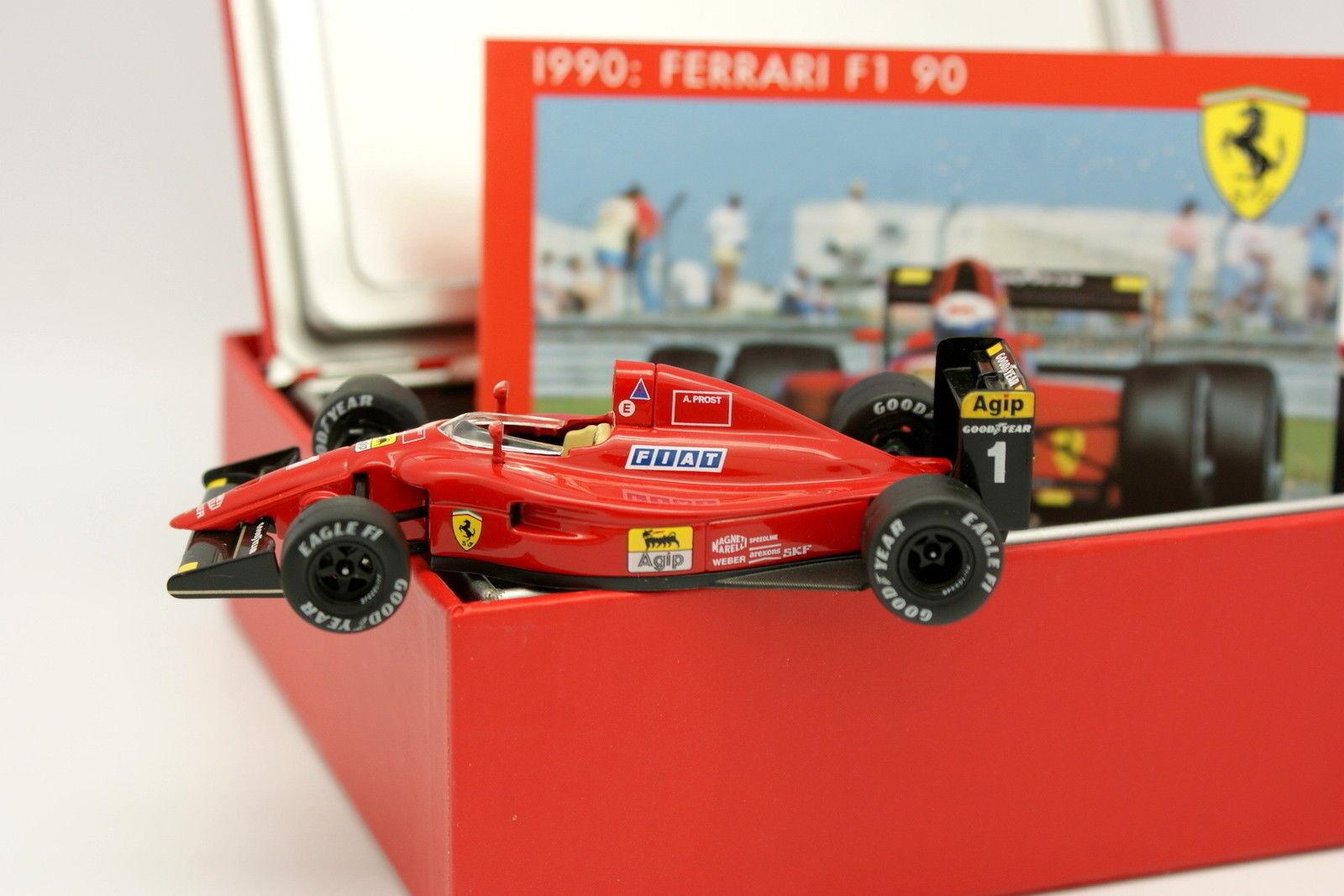 Hot Wheels 1 43 - Ferrari F1 641 90 French GP 1990 Prost
