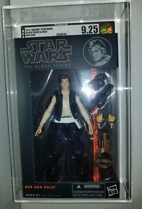 Star Wars Black Series Han Solo (édition 2013) Afa 9.25 Non circulé
