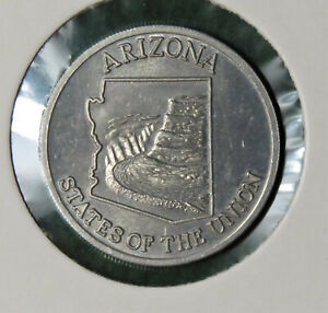 INSTANT WINNER, Shell's 'States of the Union' Coin Game, Arizona, 1969