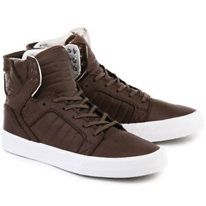 Image is loading Supra-Skytop-HF-S19503-Chocolate-Off-White