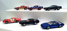 Hot Wheels Loose Lot#2 Pontiac FIREBIRD,HOT BIRD,TRANS AM. ERTL,Yatming versions