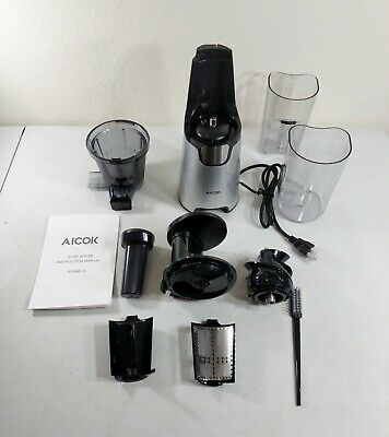 Aicok Juicer Slow Masticating Juicer Extractor, Cold Press