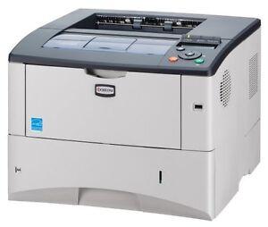 Kyocera-FS-2020DN-35-ppm-128MB-Duplex-LAN-Laserdrucker-ohne-Toner-B-Ware