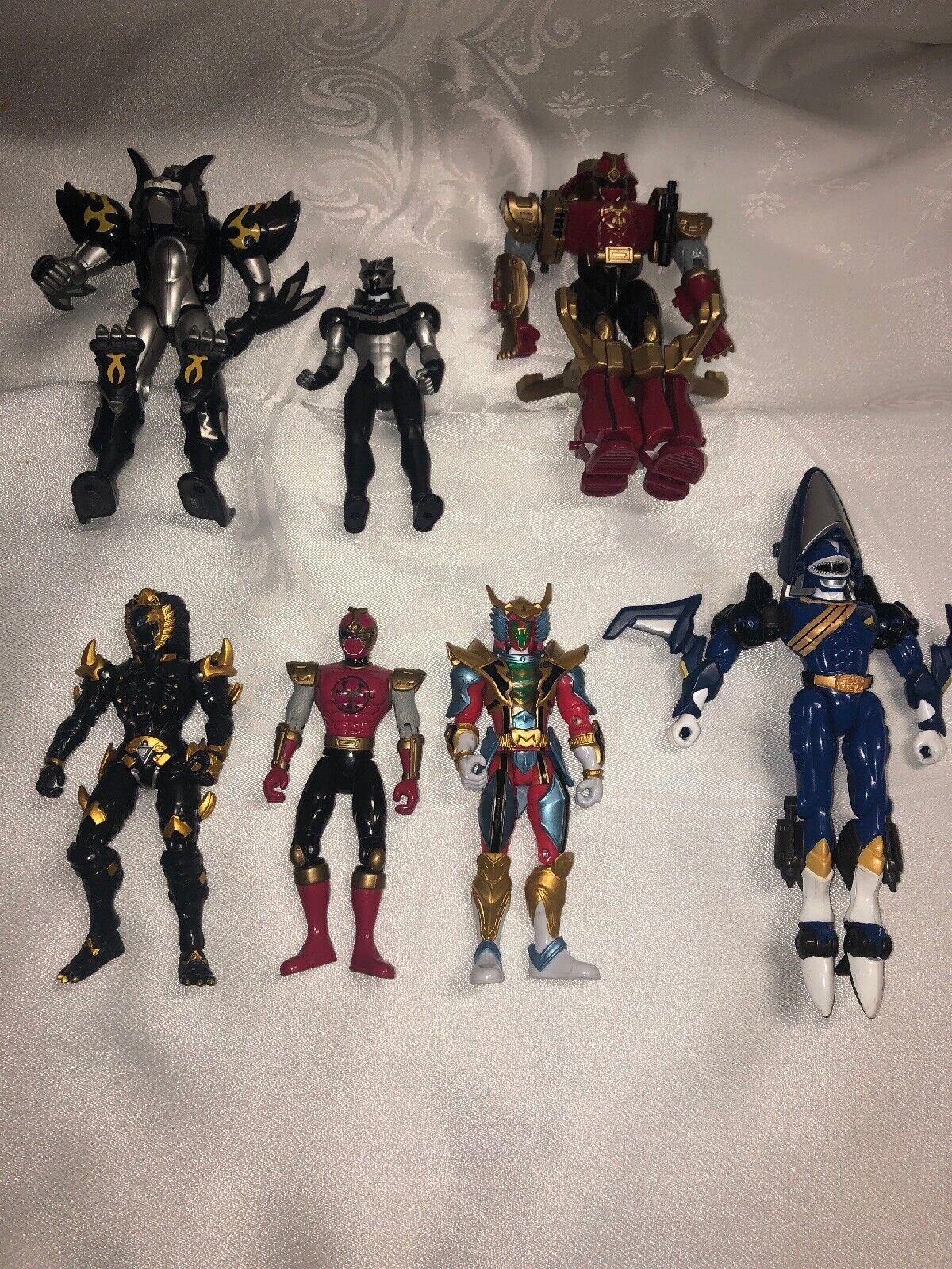 Mighty Morphin Power Rangers Figura de Acción LOTE DE 7 Excelente Estado Ver Lista