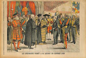 Lord-Mayor-of-London-Sir-James-Ritchie-PRESIDENT-EMILE-LOUBET-1903