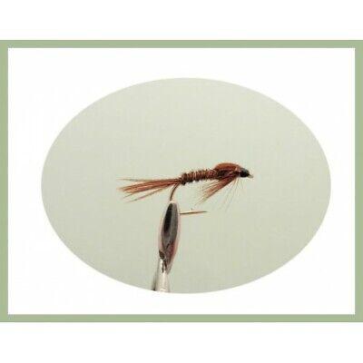 Pearly Fagiano Coda Ninfa Grayling /& Fly trota.