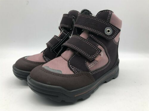 New Ex-Display Kids Pepino by Ricosta Childrens Purple//Pink Girls Strap Boots