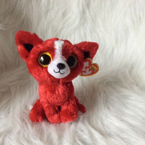 """MINT WITH MINT TAG TY BEANIE BOOS TOMATO THE RED DOG 6/"""" GIFT SHOW EXCLUSIVE"""