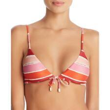 ViX Paula Hermanny Womens Retro Black Halter Bikini Swim Top L BHFO 9585