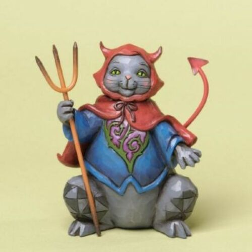 Jim Shore Heartwood Creek /'Frightful Feline/' Halloween Cat in Costume 4034437