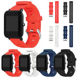 Silikon Ersatz Armband Uhrenarmband Strap für Huami Amazfit Bip Youth Watch 20mm