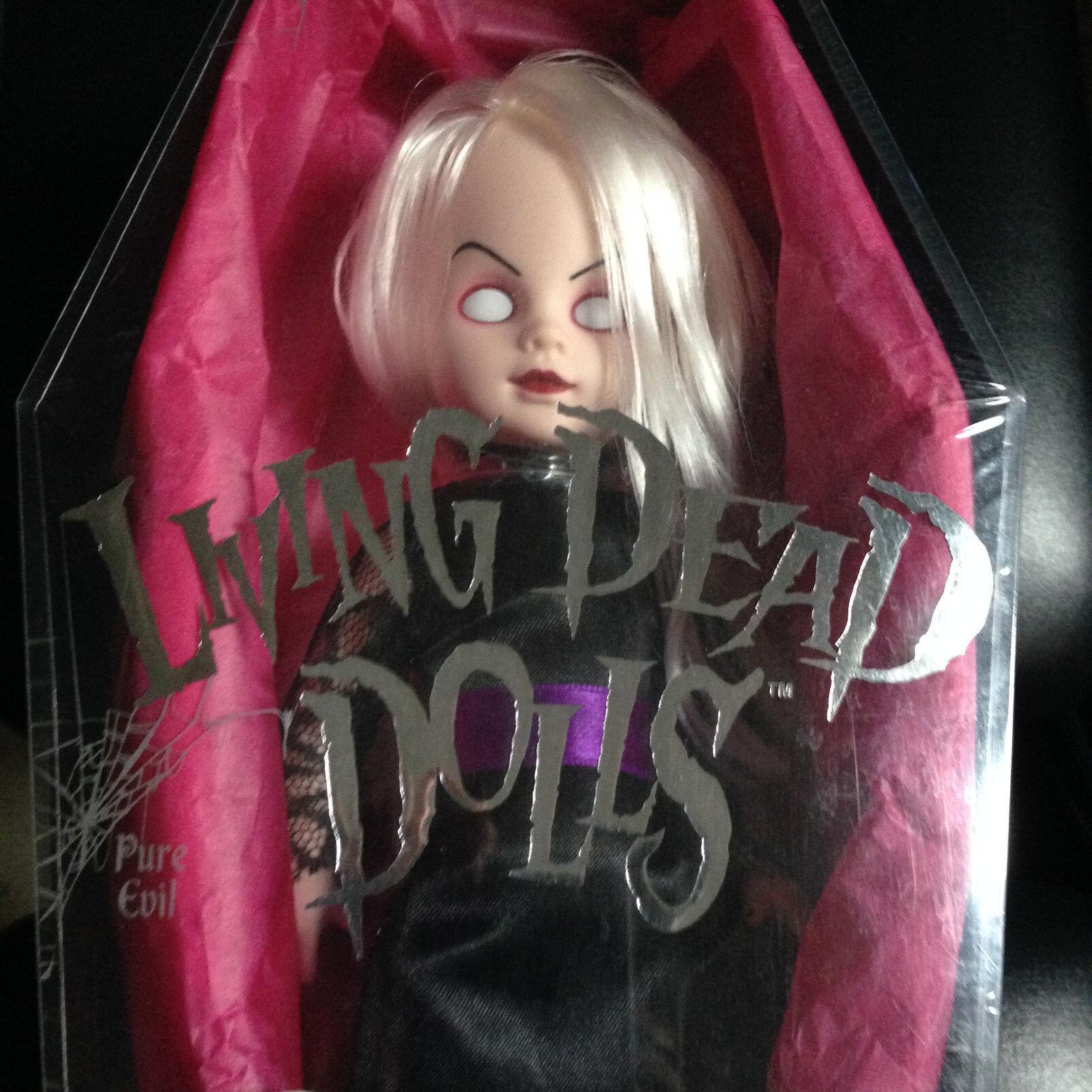 LIVING DEAD DOLLS Ms. Eerie Eerie Eerie SERIES 4 RARE- SEALED NEW (NUOVO) 268382