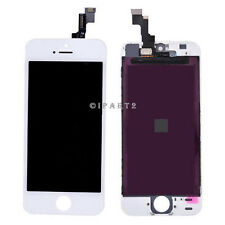 LCD Display Screen + Touch Digitizer Glass Assembly for Apple iPhone SE (White)
