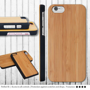 iPhone-5c-6-7-8-Plus-6s-Case-Real-Walnut-Bamboo-Wood-Hard-Bumper-Cover-for-Apple