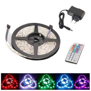 Tira-2M-de-luces-LED-5050-RGB-Fuente-12V-Mando-a-Distancia-44-Teclas-IR-N4E1