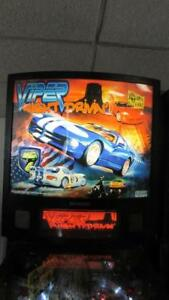 Viper-Night-Drivin-039-Pinball-Stern-Arcade-Machine-LED-Bulbs-Installed-Free-Ship