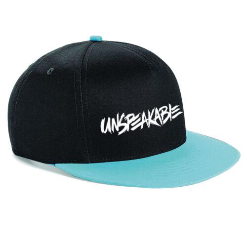 UNSPEAKABLE Baseball Cap Hat Nathan Youtuber Snapback Rapper one size adjustable