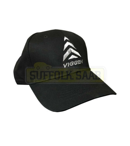 SAAB GENUINE 6 PANEL BASEBALL CAP HAT BLACK VIGGEN BRAND NEW RARE GIFT PRESENT
