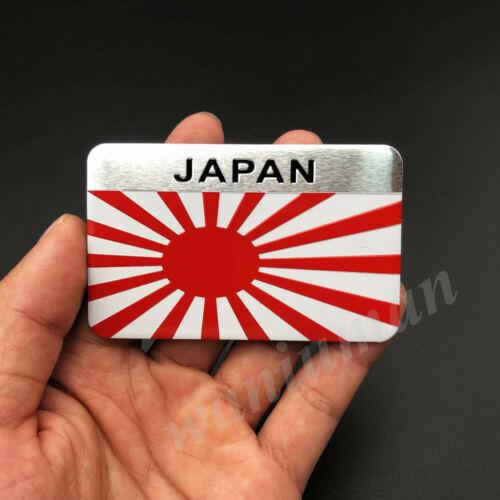 2x Japan Japanese Flag Car Trunk Emblem Badge Motorcycle Gas Tank Stickers JDM